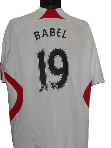 Liverpool 2007-08 away shirt Large mens BABEL 19 #S206-Classic Clothing Crib