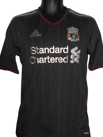 Liverpool 2011-12 away shirt small mens CARROLL 9 #S424