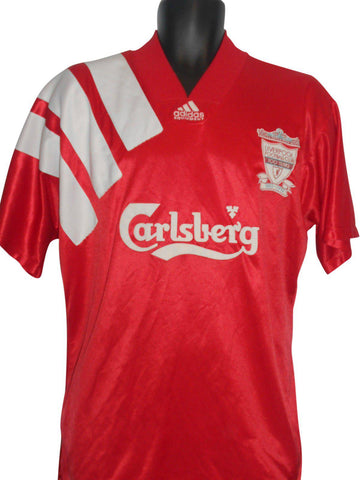 Liverpool 1992-93 home shirt large mens #S202-Classic Clothing Crib
