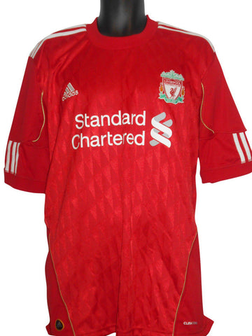 Liverpool 2010-12 home shirt XL mens TORRES 9 #S207.