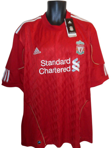 Liverpool 2010-12 home shirt XXL mens #S886.