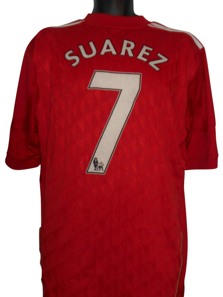 6e47917f3ae Liverpool 2011-12 home shirt XL mens SUAREZ 7  S248. - Classic Clothing Crib