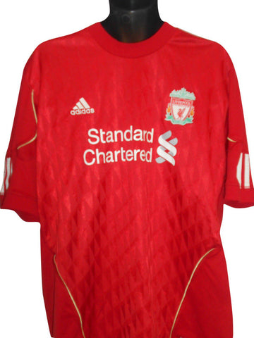 Liverpool 2011-12 home shirt XL mens SUAREZ 7 #S248.