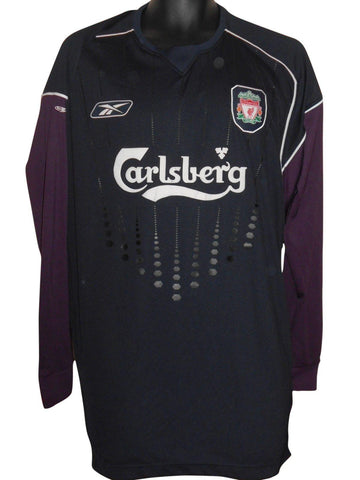 Liverpool 2006 Goalkeeper shirt XXL mens #S726.
