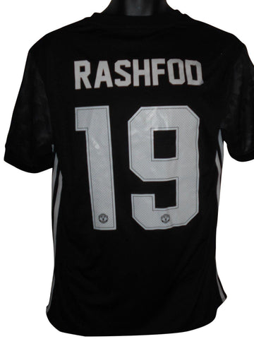 Manchester United 2013-14 away shirt small mens RASHFORD 19 #S833.
