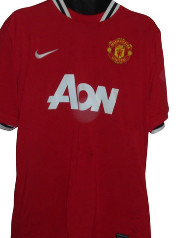 Manchester United 2011-12 home shirt XL mens ROONEY 10 #S860.-Classic Clothing Crib