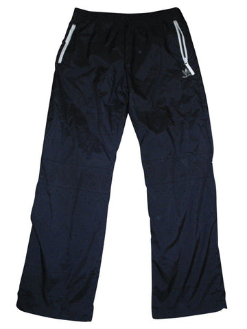 Mens Adidas Originals black tracksuit bottoms with floral design Large - VS187.