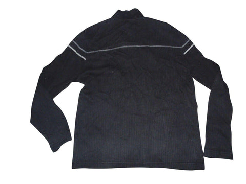 Mens Ben Sherman black zip neck sweater / jumper size 5, XXL - VS147-Classic Clothing Crib