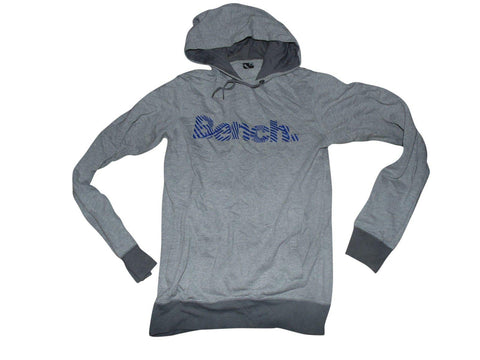 Mens Bench grey hoodie / sweatshirt size small - VSM176.