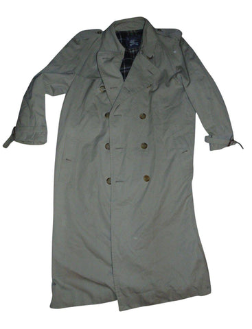 Mens Burberrys beige long winter smart business trench coat / mac Long52 B91A-Classic Clothing Crib