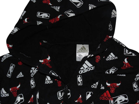 Mens Chicago Bulls Adidas zip hoodie medium Sweatshirt - VSA158-Classic Clothing Crib