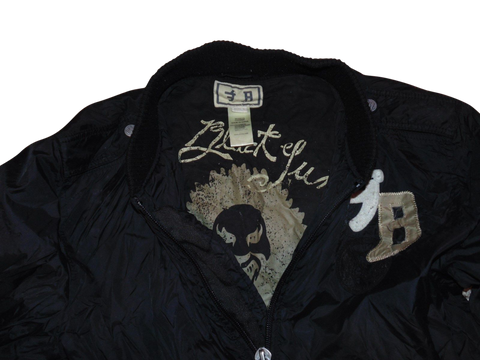 Mens Diesel black bomber jacket - Large bomba - VSJ127.