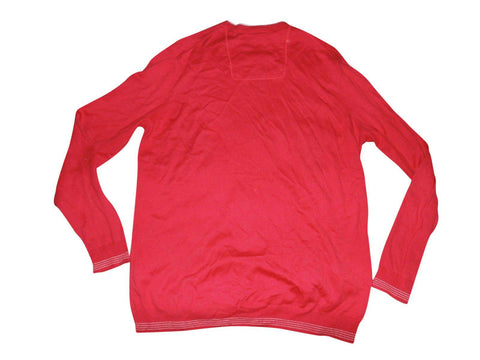 Mens Hugo Boss Rime PS red sweater / jumper XL - VS133