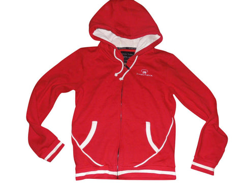 Mens James Tudor red zip hoodie xl Sweatshirt-Classic Clothing Crib