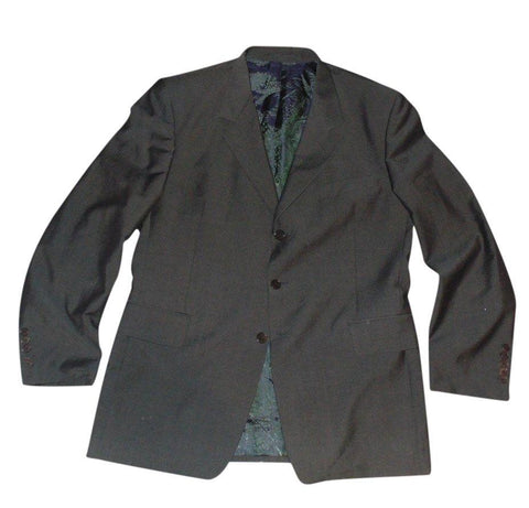 Mens Paul Smith grey Suit blazer jacket and trousers Size Large NEW - VS121-Classic Clothing Crib