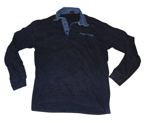 Mens Paul & Shark Yachting navy blue rugby jersey top / sweatshirt - XL - VSE156