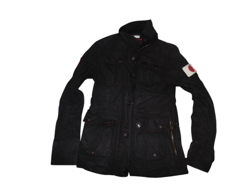 Mens Superdry Black Limited Motorcycles 500 54 SD Jacket XS NEW - VSA111-Classic Clothing Crib