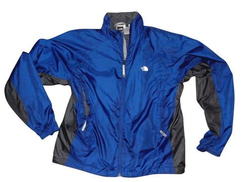 Mens The North Face Stow pocket blue jacket raincoat - medium - VSD184.-Classic Clothing Crib