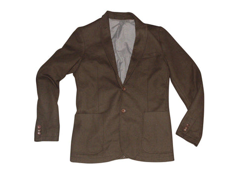Mens ZARA MAN brown blazer jacket Size EURO 48-Classic Clothing Crib