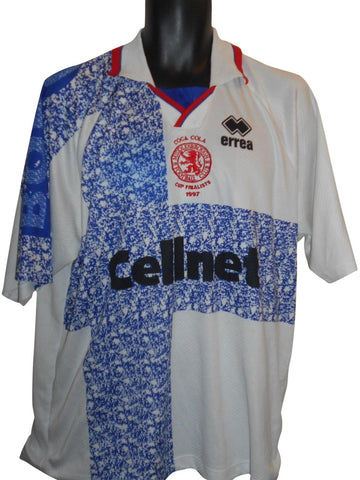 Middlesbrough 1996-97 Away cup finalists shirt xl mens #S891.