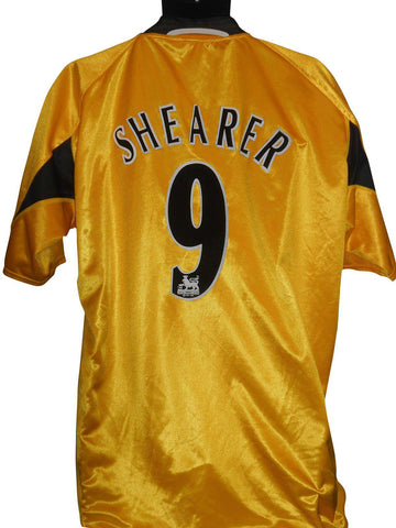 Newcastle United 2004-05 3rd football shirt XXL mens SHEARER 9 #S218.-Classic Clothing Crib