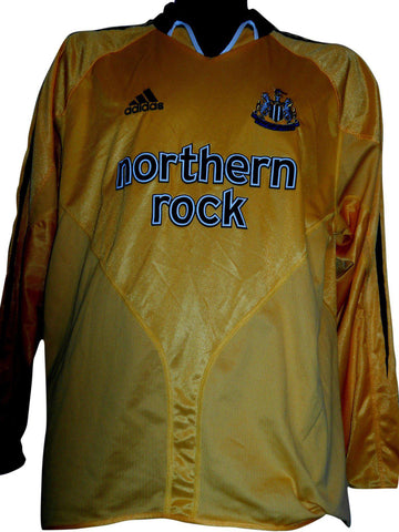 Newcastle United 2004-05 3rd long sleeves football shirt Medium mens #S369.-Classic Clothing Crib