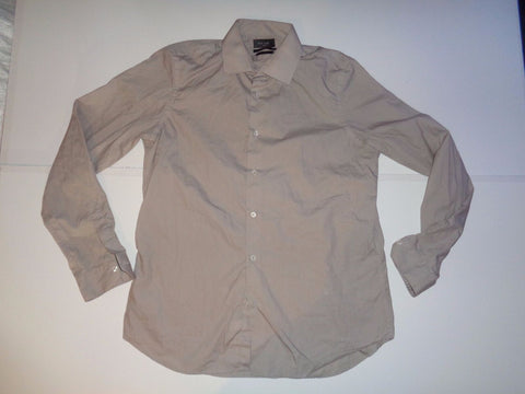 "Paul Smith brown / beige shirt 16.5"" / xl mens SOHO - S5353"