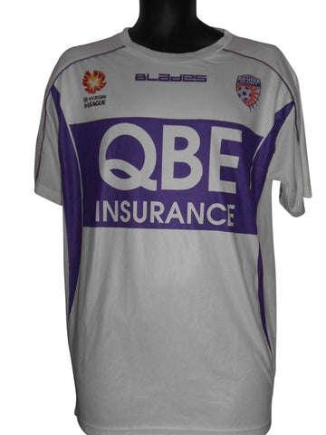 Perth Glory Blades Away shirt Large Mens #S767.
