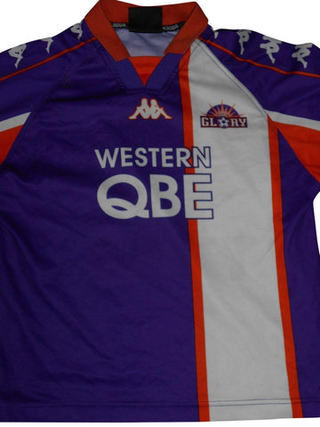 Perth Glory 2000-01 Home shirt XL Boys #S712.