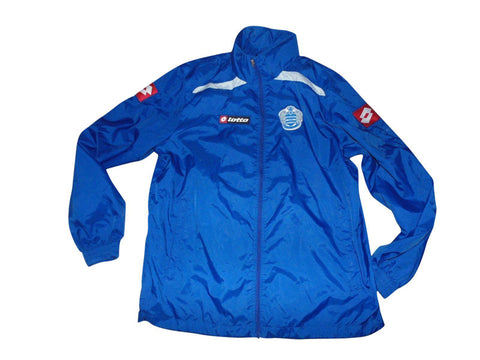 QPR Queens Park Rangers waterproof training jacket, Lotto XL - VSE184-Classic Clothing Crib