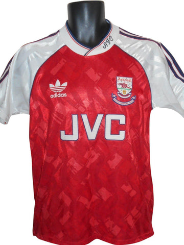 Arsenal 1990-91 home shirt Small mens #S812.-Classic Clothing Crib
