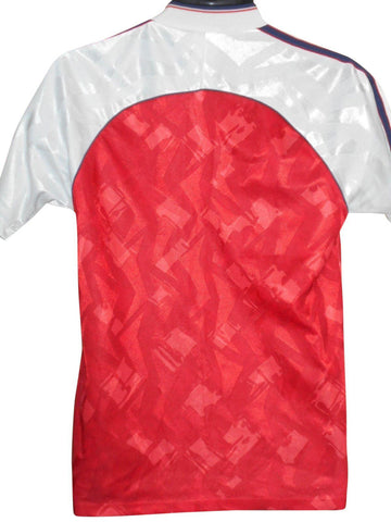 Arsenal 1990-91 home shirt Small mens #S812.