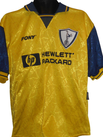 Tottenham Hotspur 1995-97 away shirt Medium mens CAMPBELL 23 #S235.-Classic Clothing Crib