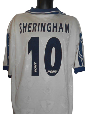 Tottenham Hotspur 1995-97 home shirt xl mens SHERINGHAM 10 #S281-Classic Clothing Crib