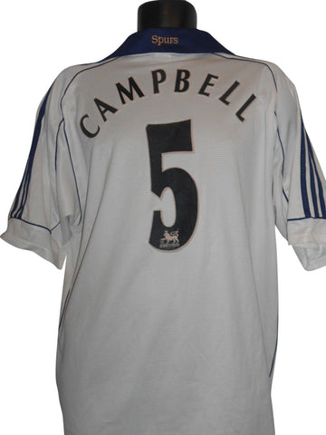 Tottenham Hotspur 1999-01 home shirt xl mens CAMPBELL 5 #S236.-Classic Clothing Crib