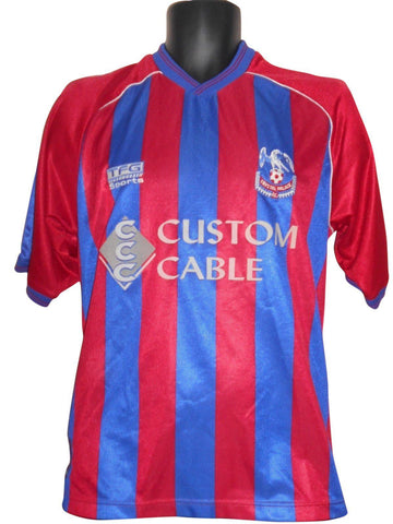 Crystal Palace 1999-00 Home shirt medium mens #S636.-Classic Clothing Crib