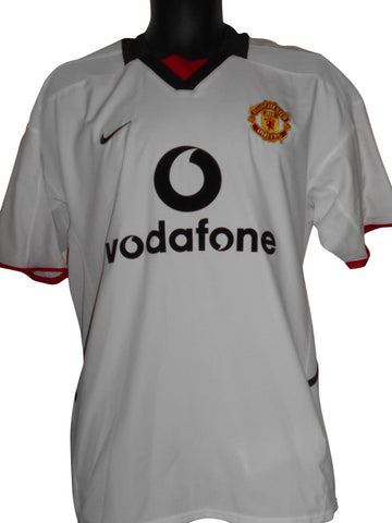 Manchester United 2002-03 away shirt Medium mens #S733.-Classic Clothing Crib
