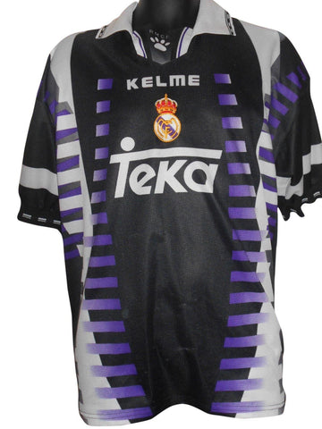Real Madrid 1997-98 3rd shirt XL Mens #S762.