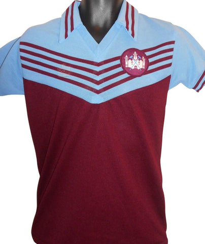 West Ham United 1976-80 home shirt small mens #S882.