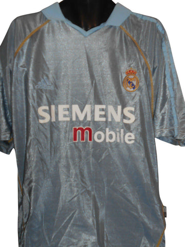 Real Madrid 2003-04 away shirt XL Mens BECKHAM 23 #S255.