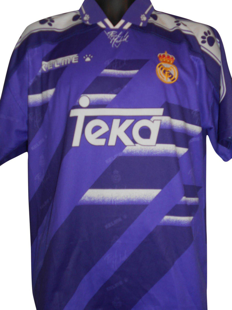 eec4674e3 Real Madrid 1994-96 away shirt Large Mens  S258. - Classic Clothing Crib