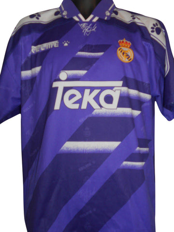 Real Madrid 1994-96 away shirt Large Mens #S258.
