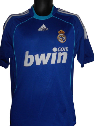 Real Madrid 2008-09 away shirt Medium Mens #S574.