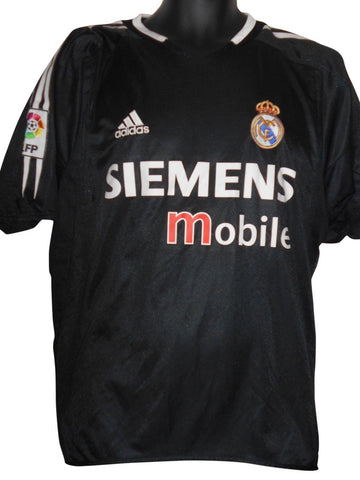 Real Madrid 2004-05 away shirt Medium Mens #S550.