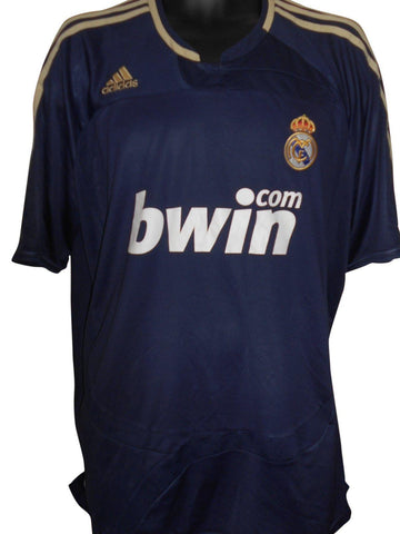 Real Madrid 2007-08 away shirt XL Mens #S551.-Classic Clothing Crib