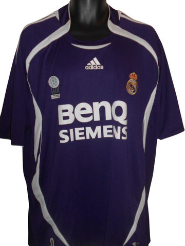 Real Madrid 2006-07 3rd shirt XXL Mens #S796.-Classic Clothing Crib