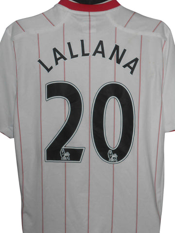 Southampton 2012-13 away shirt large mens LALLANA 20 #S163.-Classic Clothing Crib