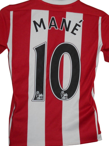 Southampton 2015-16 home shirt Large boys MANE 10 #S856.-Classic Clothing Crib