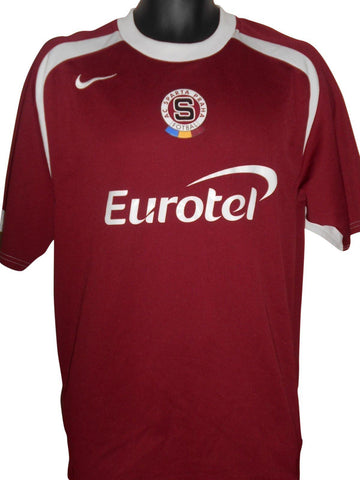 Sparta Prague 2004-05 home shirt Large Mens #S576.