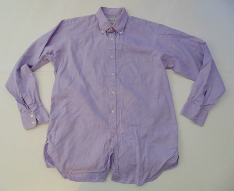 "Thomas Pink purple checks shirt 15"" / small Mens slim fit - S6239"